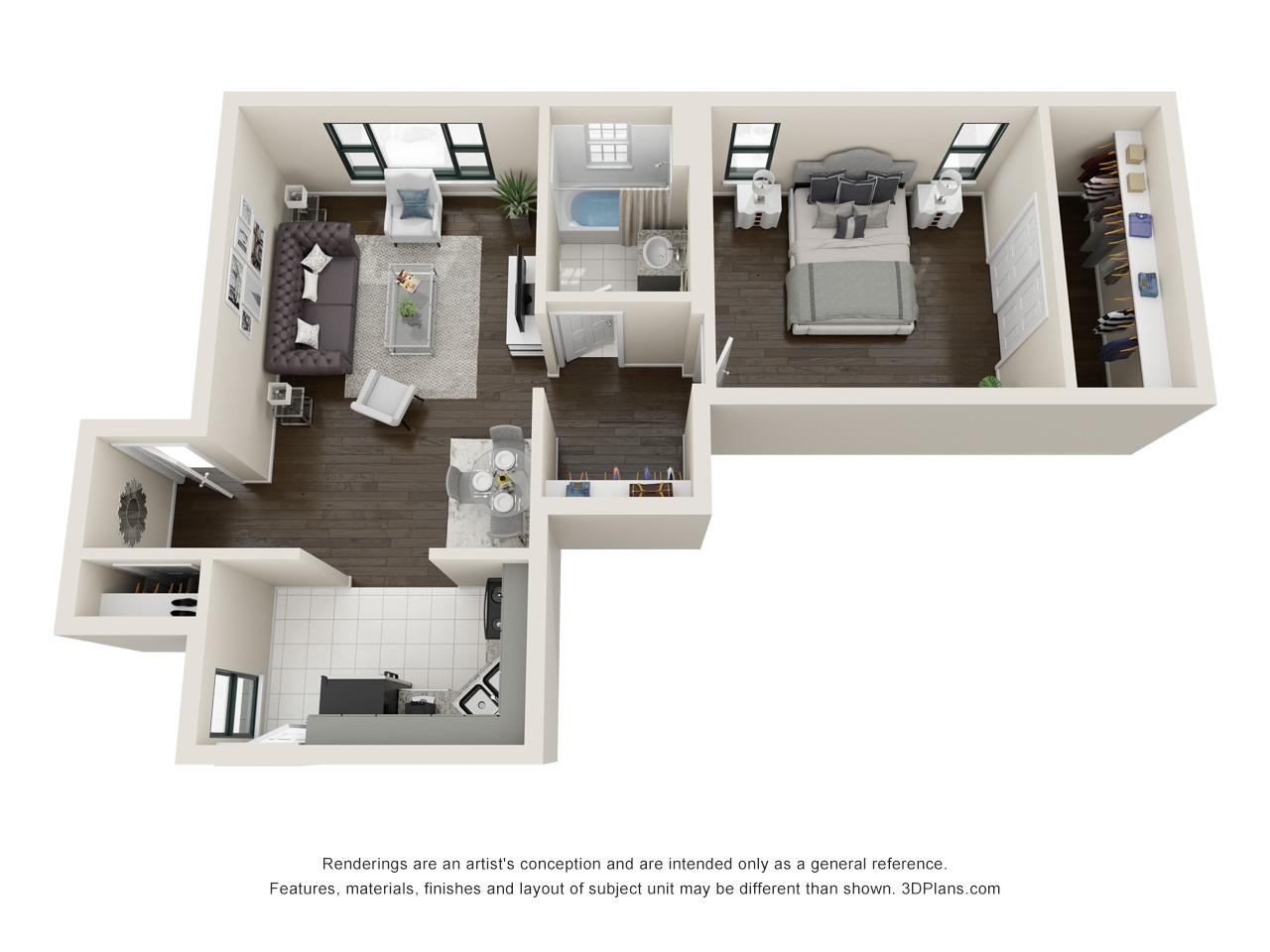 Floorplan - Callahan image