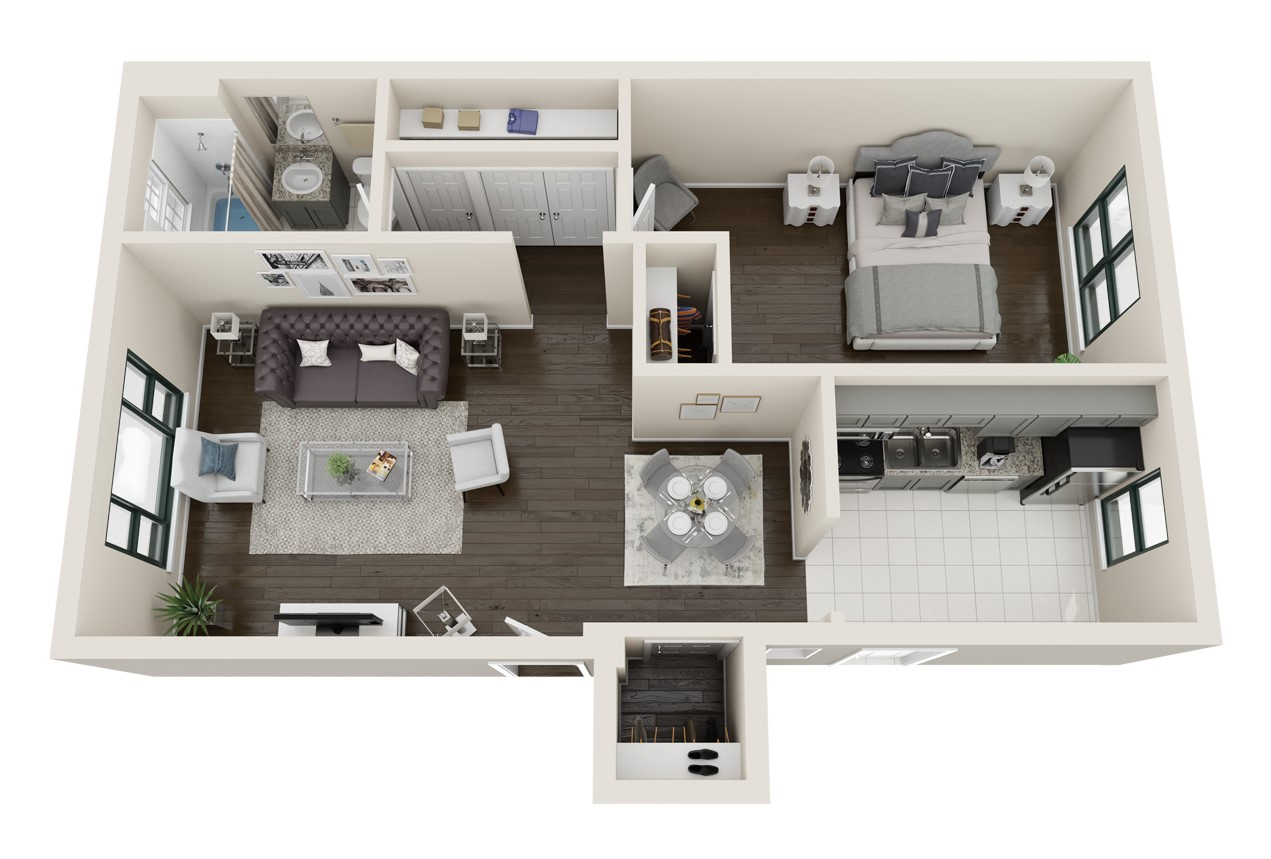 Elmhurst Terrace - Floorplan - Whitaker