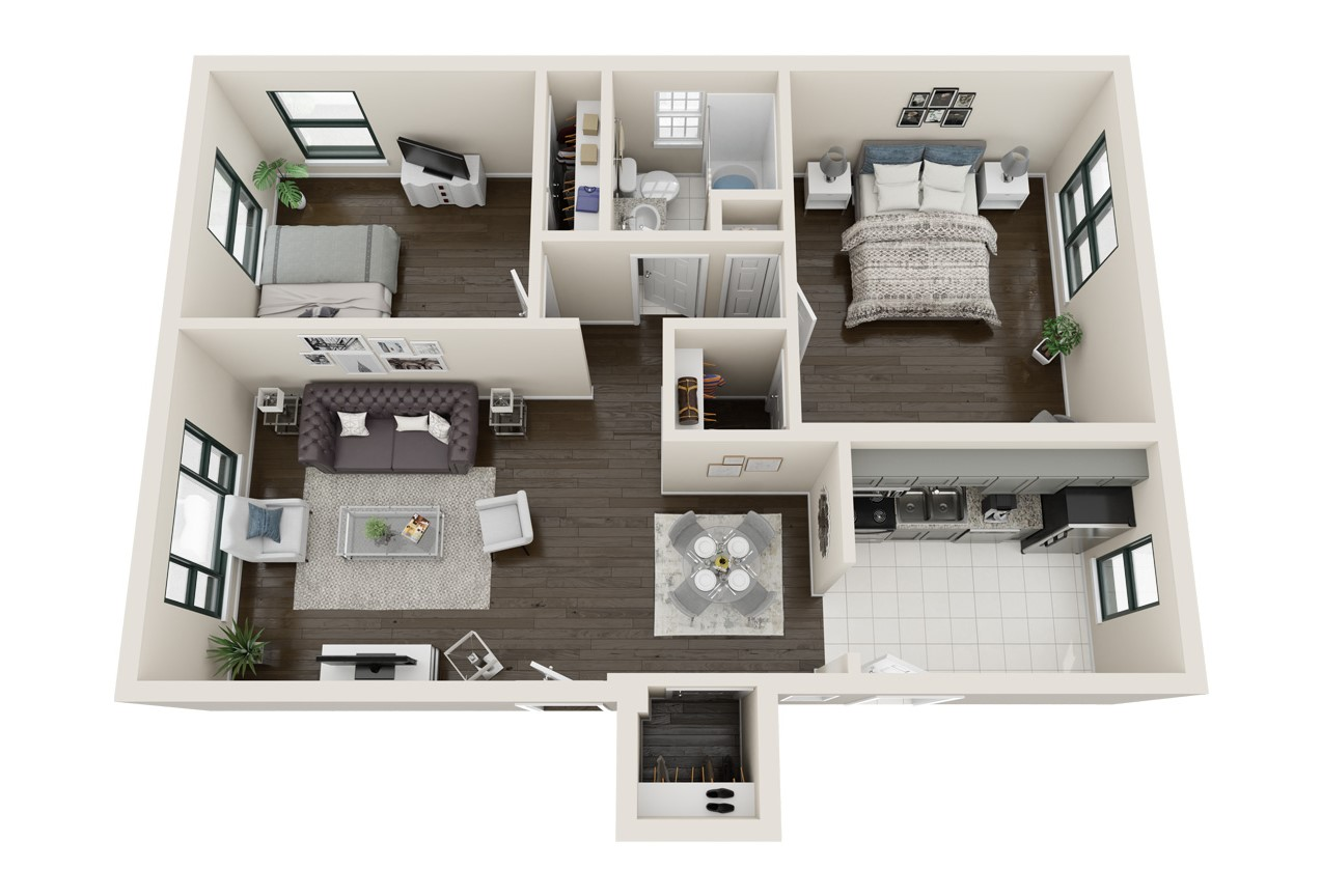 Floorplan - Teague image