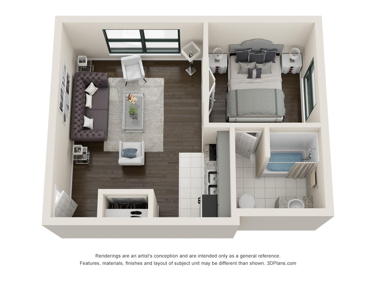 Floorplan - Wrigley image