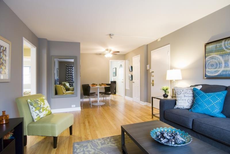 Open Floor Plans at Elmhurst Terrace Apartments in Elmhurst, Illinois