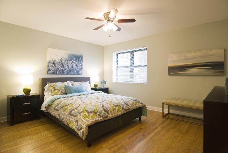 Cozy Bedrooms at Elmhurst Terrace Apartments in Elmhurst, Illinois