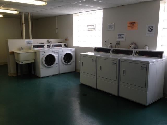 On-Site Laundry Center at Elmhurst Terrace Apartments in Elmhurst, Illinois