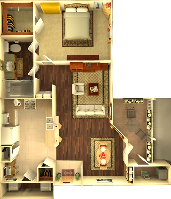 Floorplan - The Creekbend image
