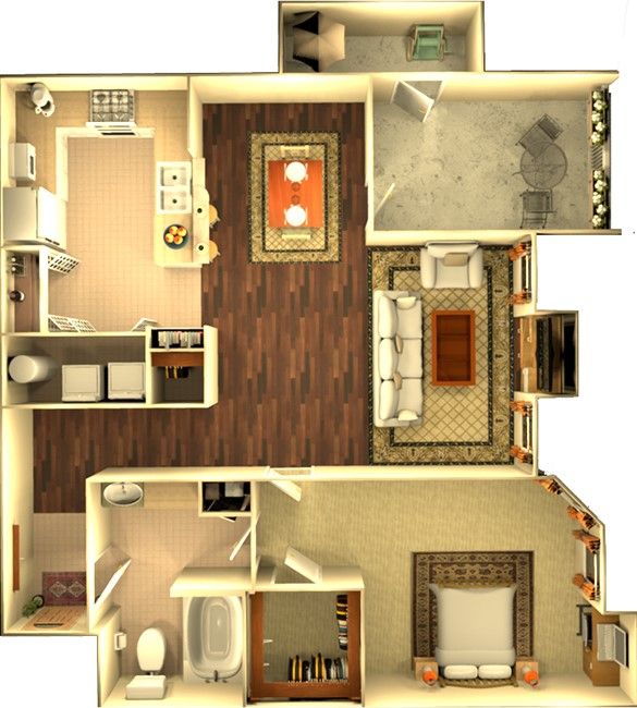 Floorplan - The Habersham image