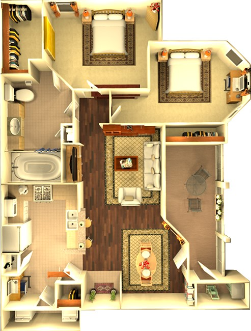 Floorplan - The Riverton image
