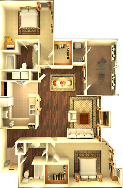 Enclave At Woodbridge - Floorplan - The Stonefield