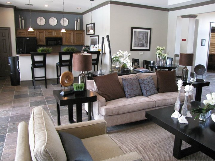 Lobby Interior at The Enclave at Woodbridge Apartments in Sugar Land, TX