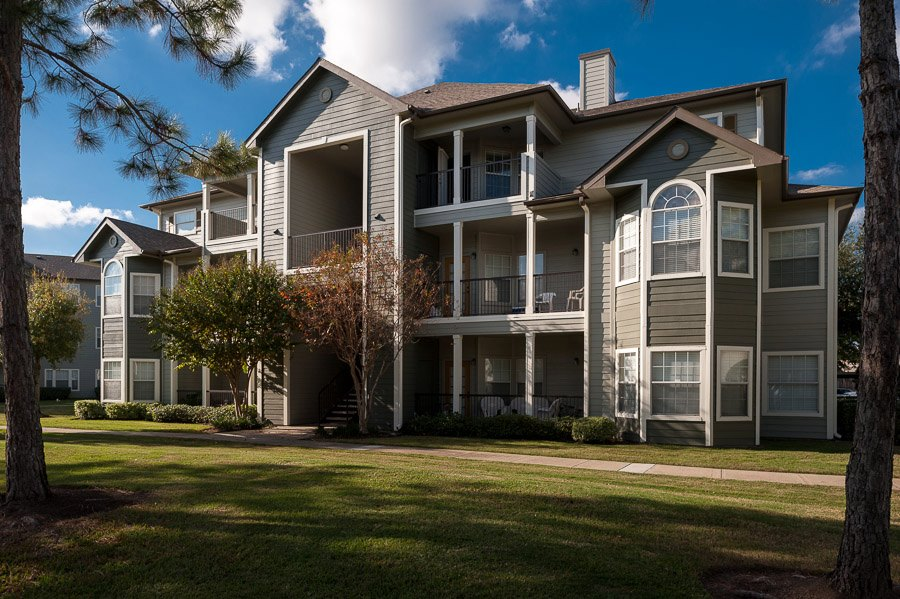 Exterior at The Enclave at Woodbridge Apartments in Sugar Land, TX