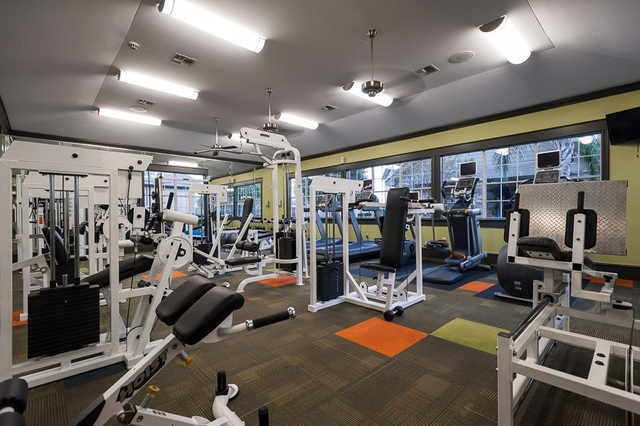 Fitness Center at The Enclave at Woodbridge Apartments in Sugar Land, TX