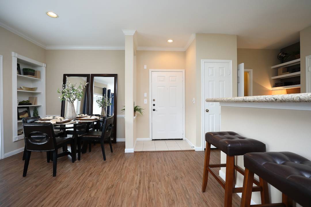 Separate Dining Area at The Enclave at Woodbridge Apartments in Sugar Land, TX