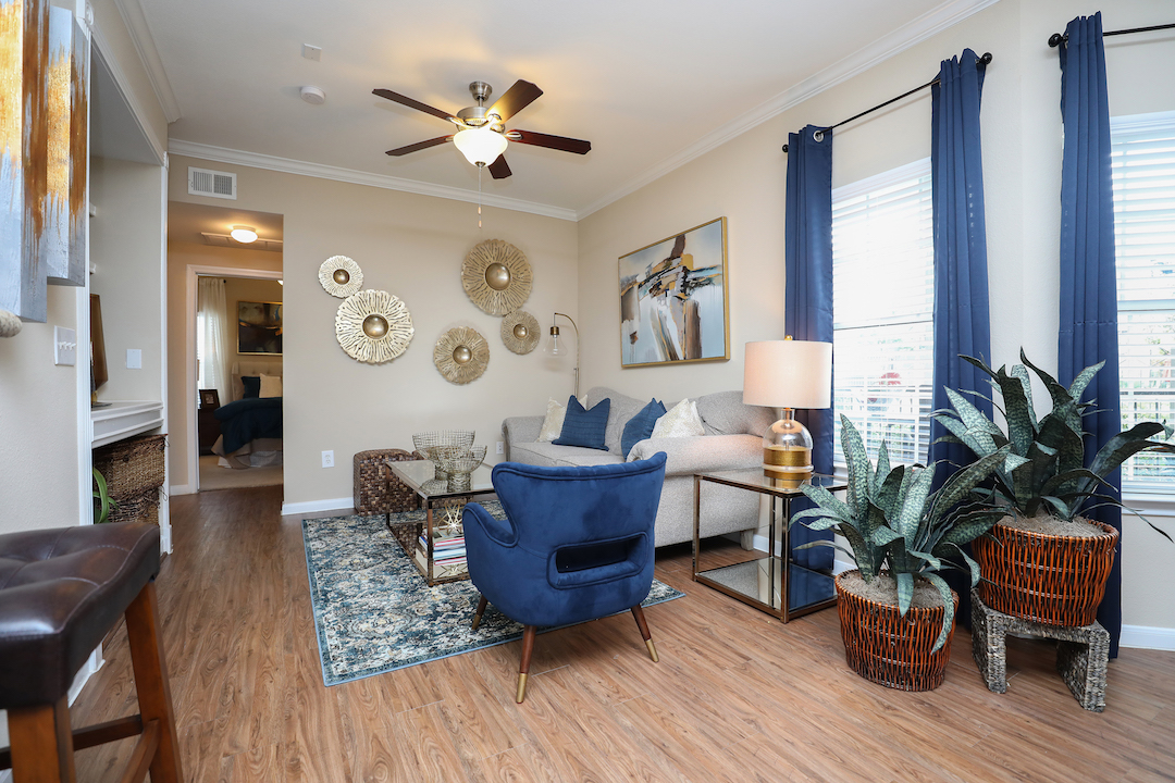 Ceiling Fans at The Enclave at Woodbridge Apartments in Sugar Land, TX