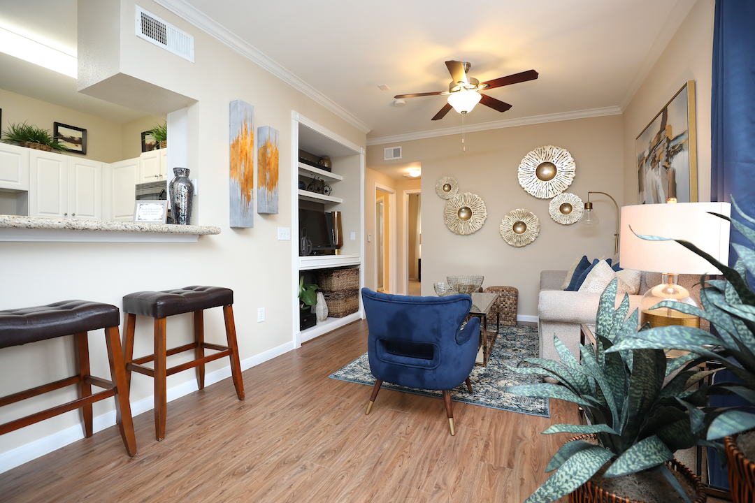 Stylish Interiors at The Enclave at Woodbridge Apartments in Sugar Land, TX