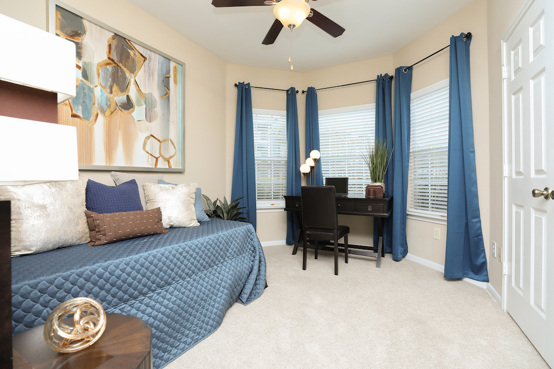 One-Bedroom Floor Plans at The Enclave at Woodbridge Apartments in Sugar Land, TX