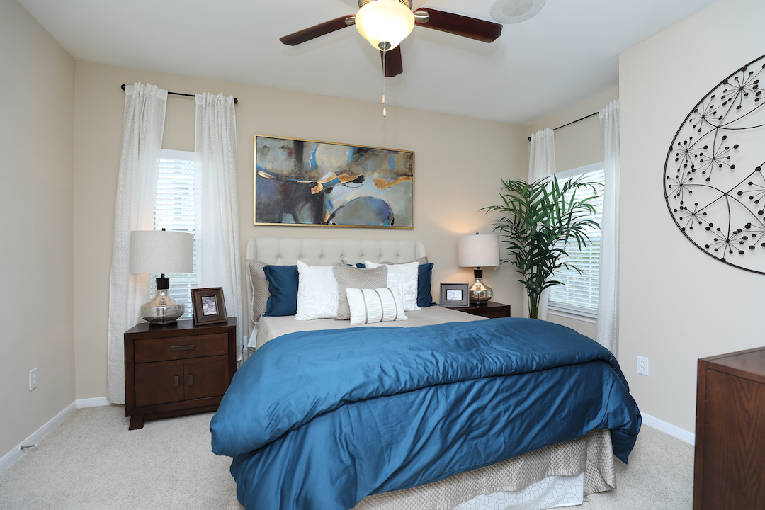 Two-Bedroom Floor Plans at The Enclave at Woodbridge Apartments in Sugar Land, TX