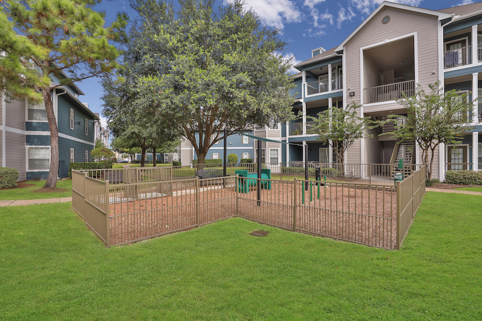 Serene Park Areas at The Enclave at Woodbridge Apartments in Sugar Land, TX