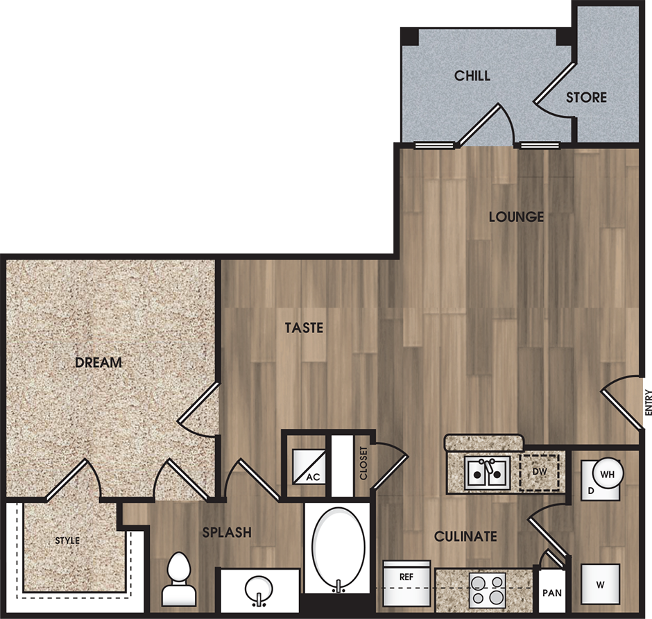 Floorplan - A1: The Wilson image