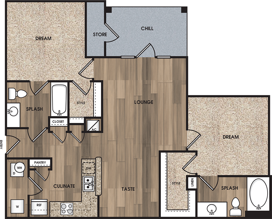 Floorplan - B2: The Bransom image