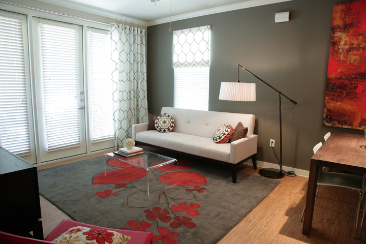 Accent Walls at Encore on Alsbury Apartments in Burleson, TX
