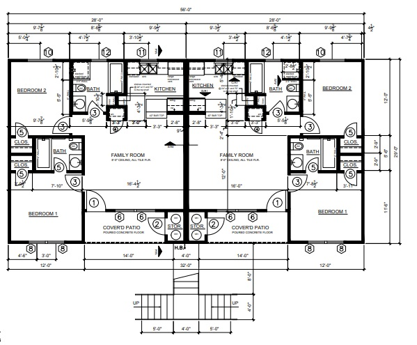 Esperanza at Wilson Road - Floorplan - Esperanza- Down
