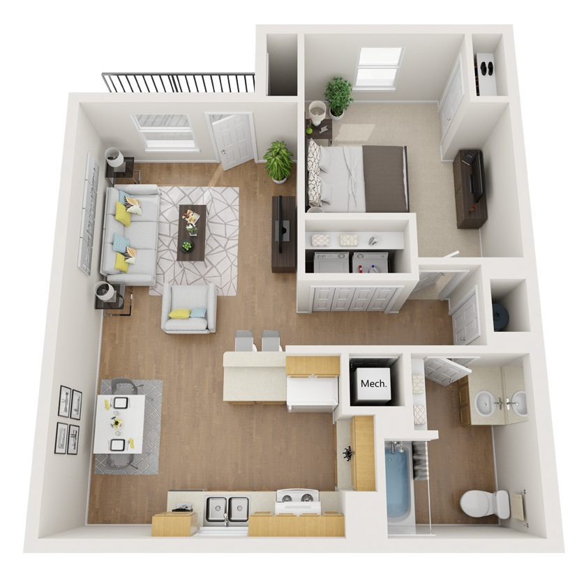 Esperanza at Queenston - Floorplan - A1