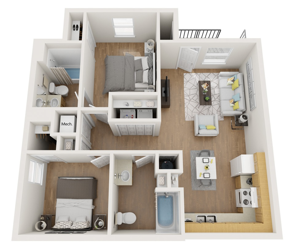 Esperanza at Queenston - Floorplan - B2