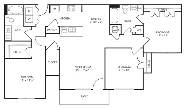 Estate Villas at Krum - Floorplan - Phoenix