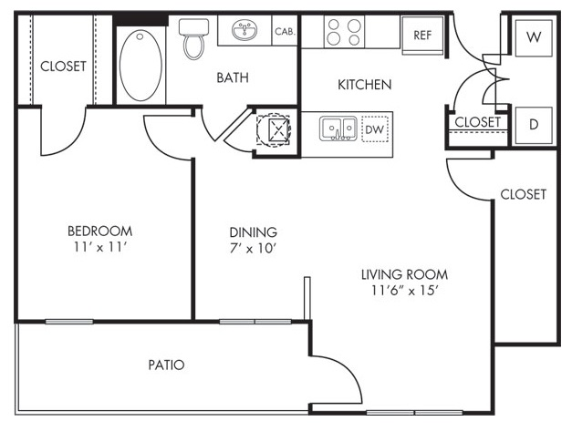 Estate Villas at Krum - Floorplan - Sedona