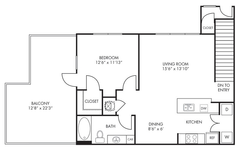 Estate Villas at Krum - Floorplan - Sonora
