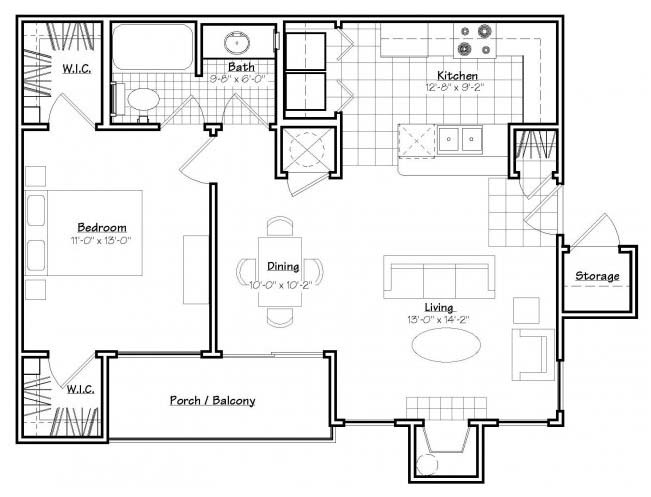 Oxford at Estonia - Floorplan - A2