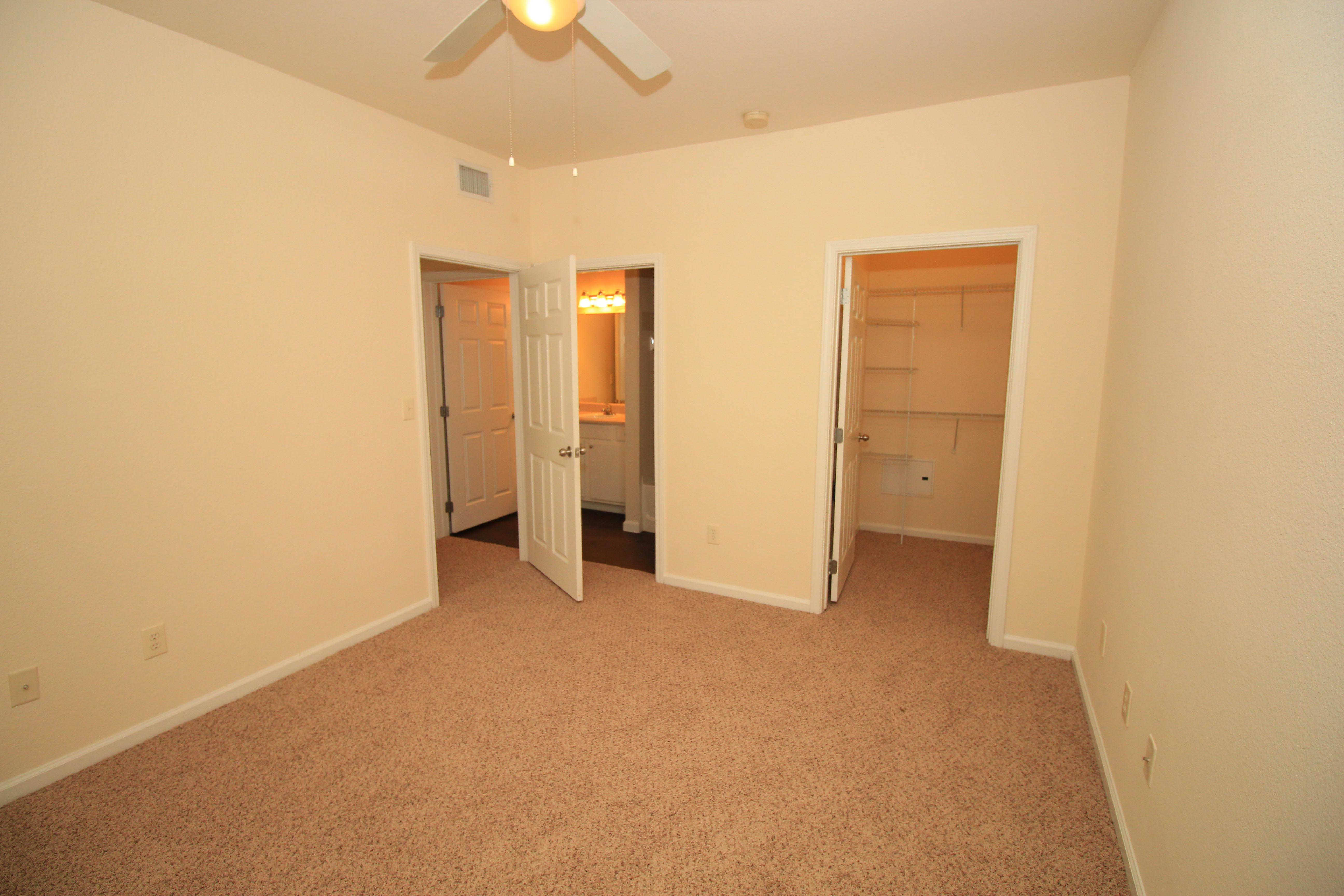 Bedroom at The Oxford at Estonia Apartments in San Antonio, TX