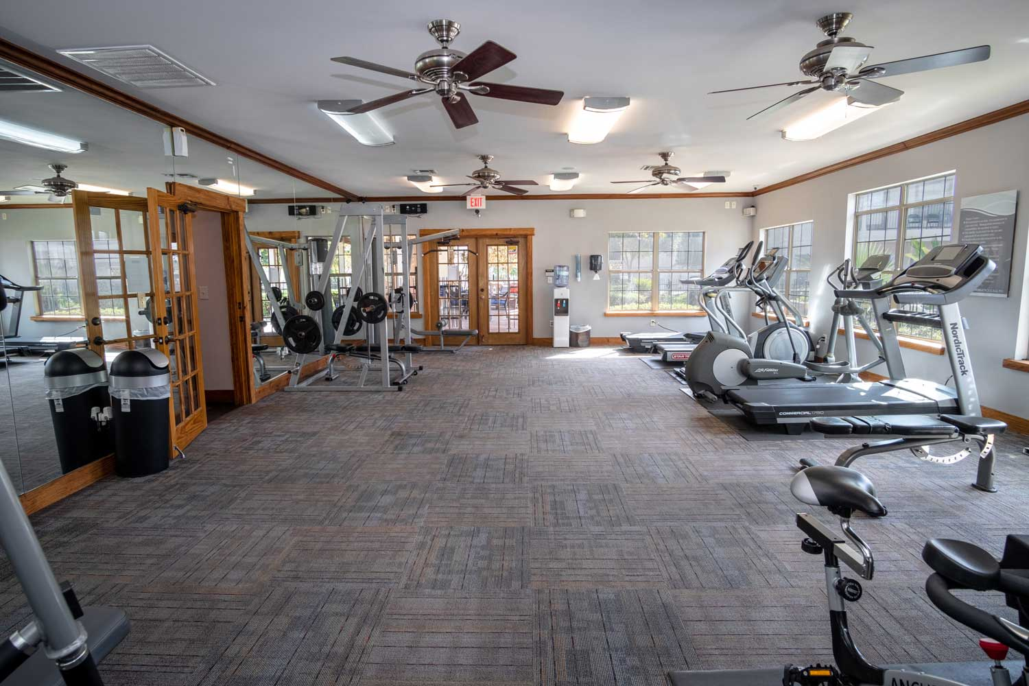 Fitness Center at The Oxford at Estonia Apartments in San Antonio, TX