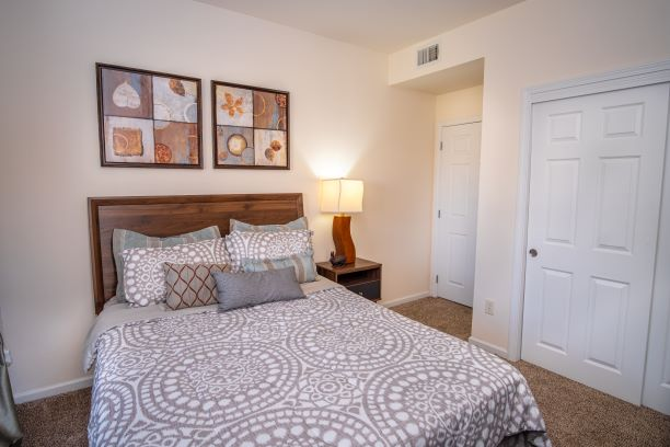 Large Bedroom at The Oxford at Estonia Apartments in San Antonio, TX