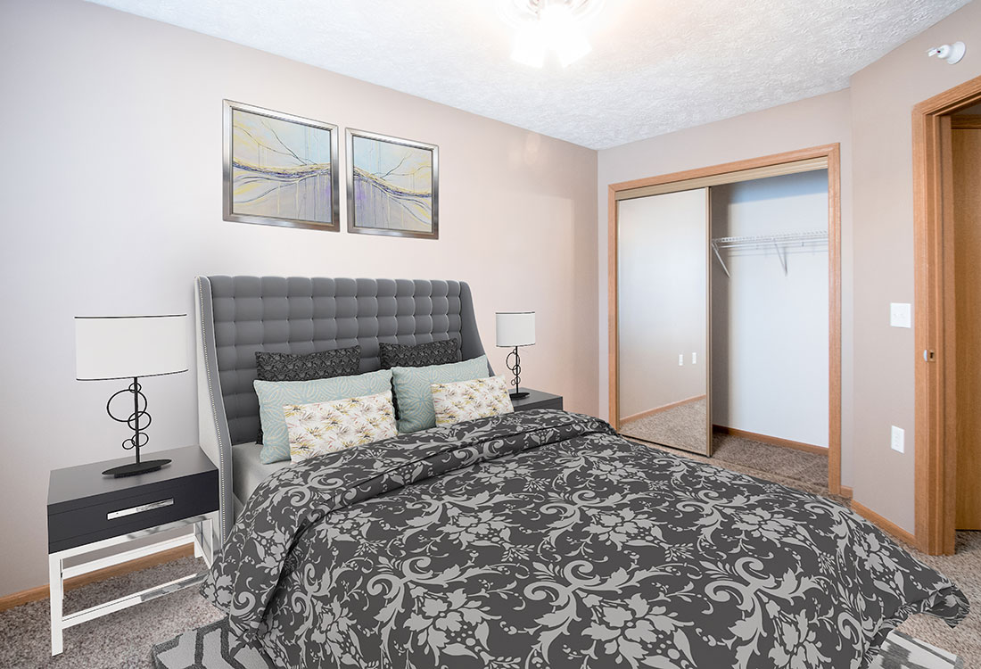 Plush Carpeting at Fairfax Apartments in Omaha, Nebraska