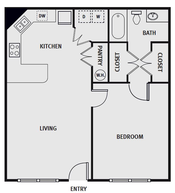 Fairways at Lincoln - Floorplan - Eagle - Fully Furnished