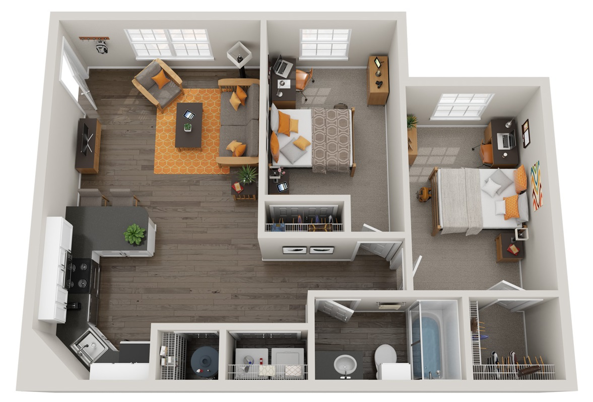 Floorplan - Ace image
