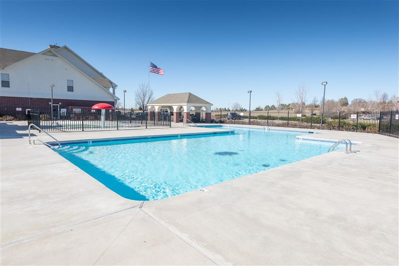 Sparkling Swimming Pool at Fairways at Lincoln Apartments in Lincoln, Nebraska