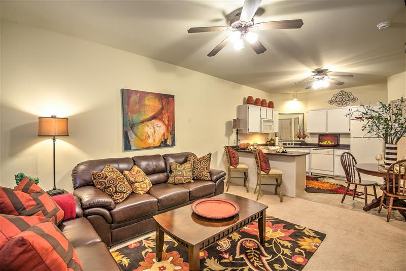 Open Floor Plans at Fairways at Lincoln Apartments in Lincoln, Nebraska
