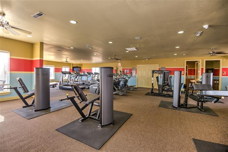 Community Fitness Center at Fairways at Lincoln Apartments in Lincoln, Nebraska