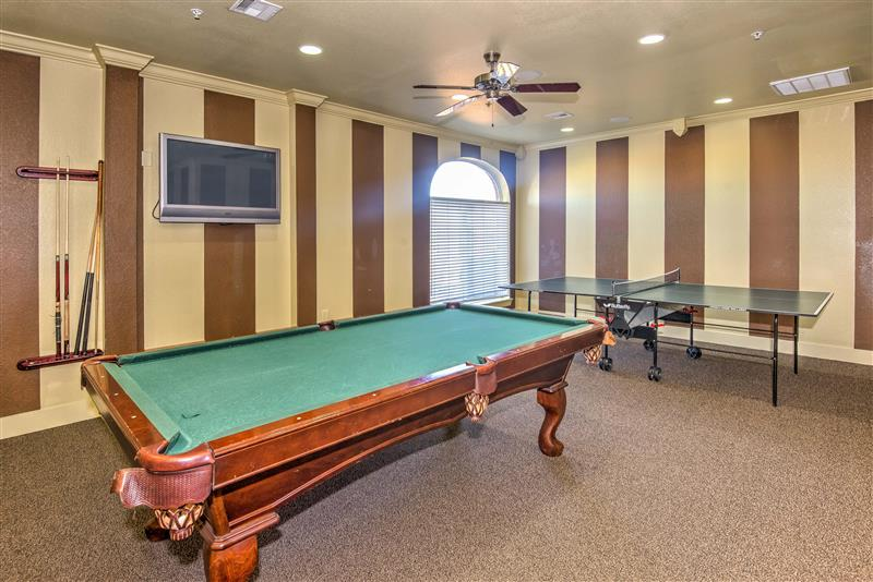 Resident Activity Room at Fairways at Lincoln Apartments in Lincoln, Nebraska