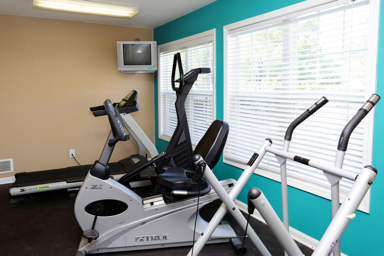 Fitness Center at Falcon Crest Apartments in Louisville, Kentucky