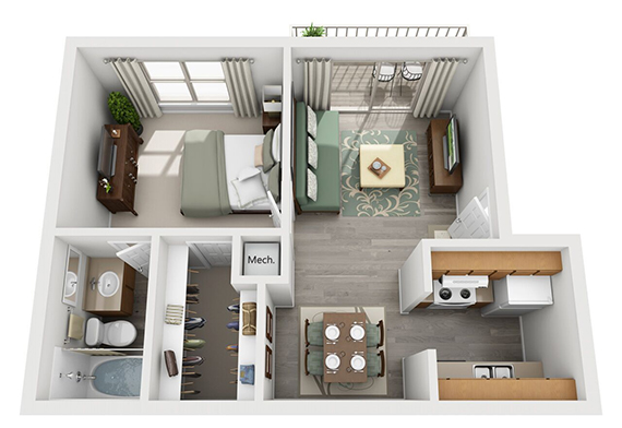 Floorplan - Waterbury image