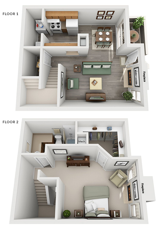 Floorplan - Riverside image