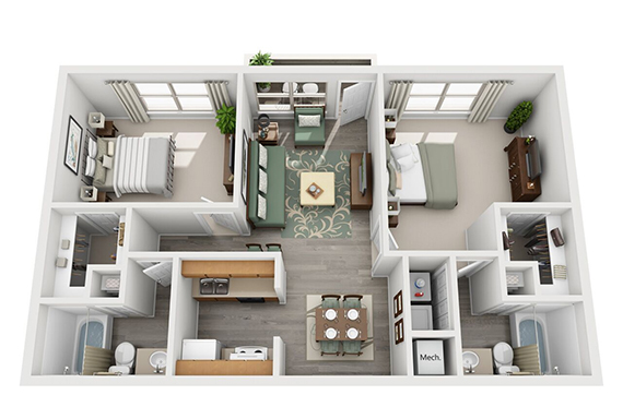 Floorplan - Redwood image
