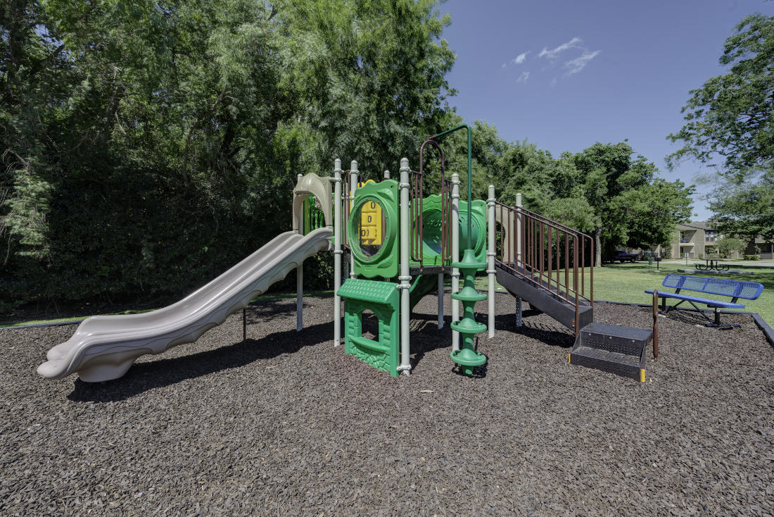 Playground at Falls at Clear Lake Apartments in Webster, TX