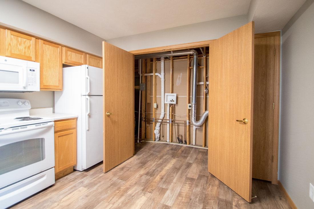 Spacious Kitchen with Utility Closet