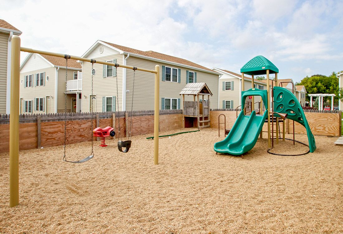 Children's Playground at Fieldstone Place Apartments in Lincoln, NE
