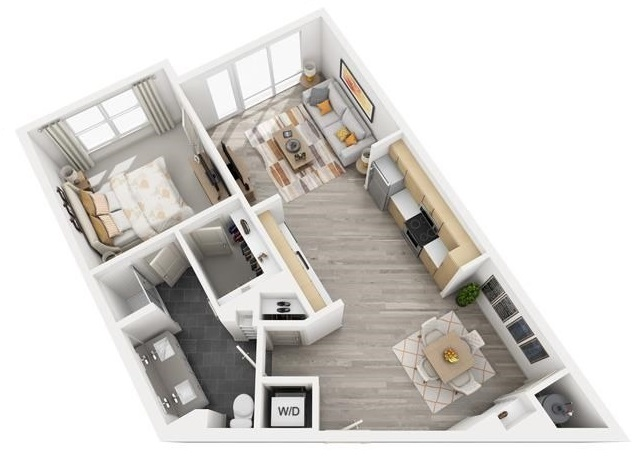 The Flats at Big Tex - Floorplan - A12