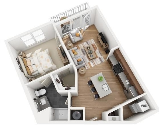 The Flats at Big Tex - Floorplan - A3