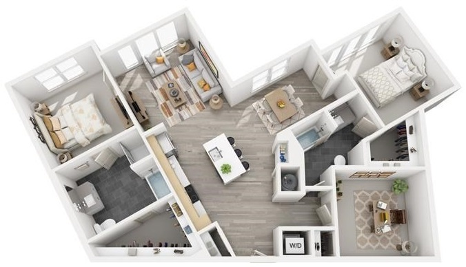 The Flats at Big Tex - Floorplan - B10